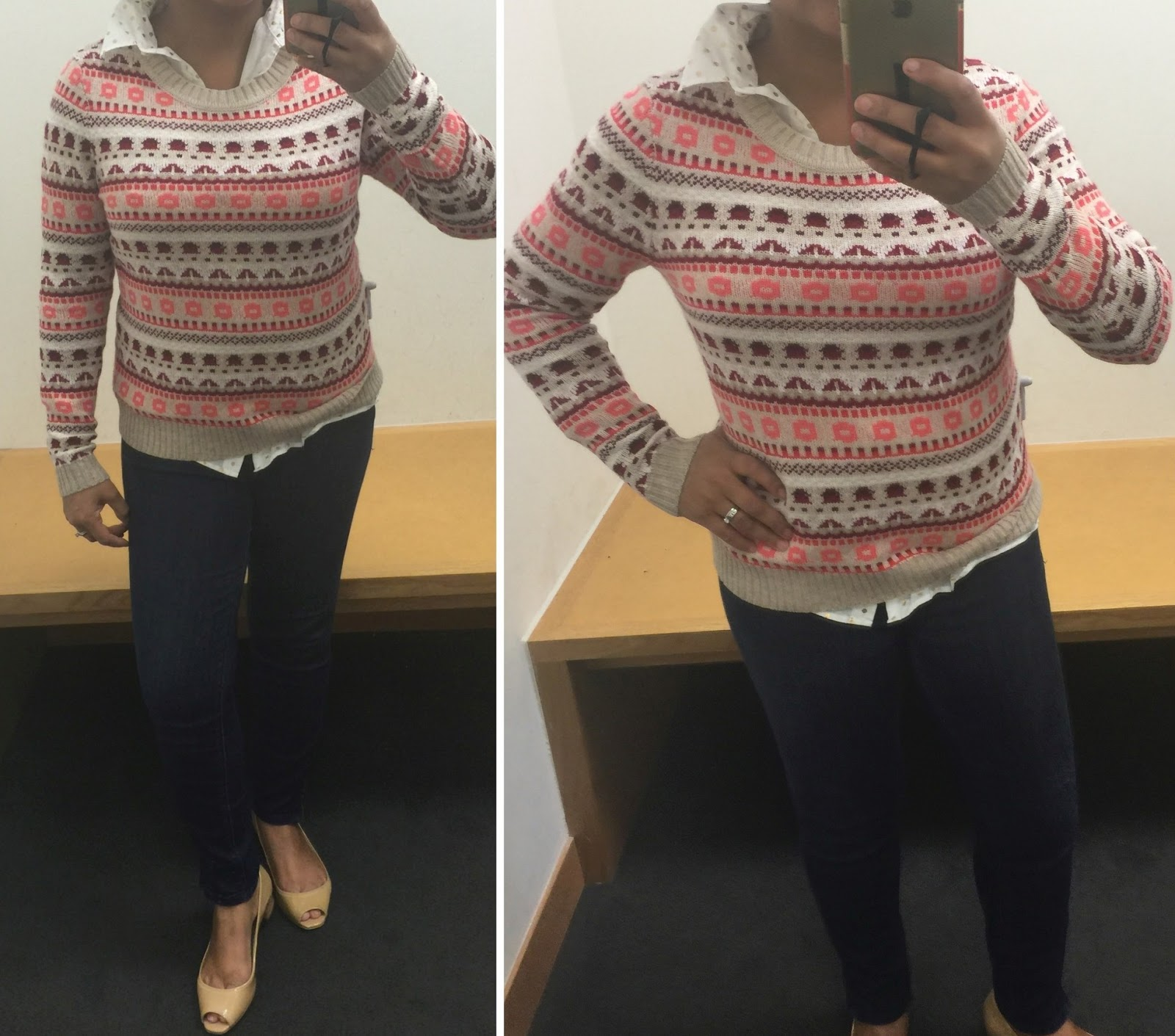 j crew factory fair isle stripe sweater Archives - Gigi's Gone ...