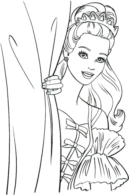 Thanks For Viewing Barbie Coloring