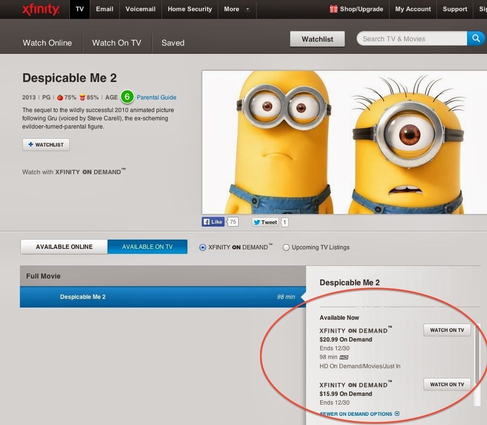 Peter litman comcast 39 s xfinity store looking deeper on the despicable me 2 headline - Despicable me xfinity ...