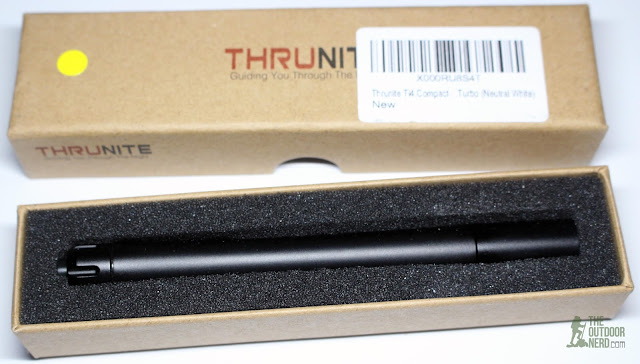 Thrunite Ti4 2xAAA Flashlight / Penlight - Unboxing 3