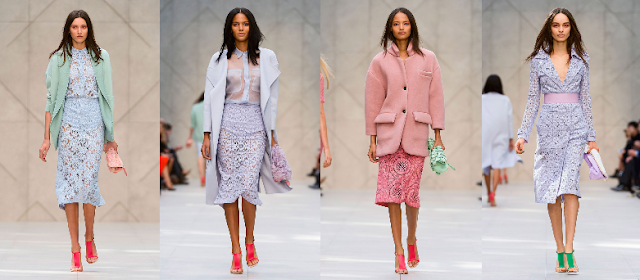 Key looks from the Burberry spring/summer 2014 collection
