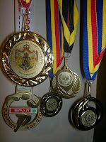 Maratonul Reintregirii Neamului Romanesc 2012 - parcul IOR, Bucuresti. Medalie