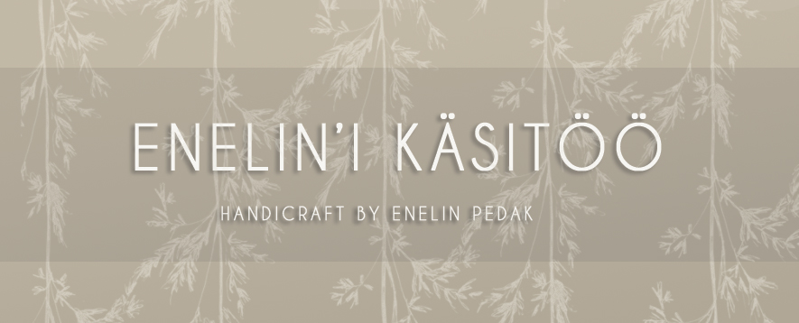 Textile handicraft by Enelin Pedak