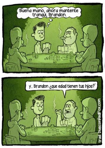 imagenes graciosas - timba de poker