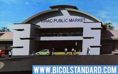 Virac Public Market facade