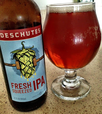 Fresh Squeezed IPA by Deschutes Brewery | A Hoppy Medium