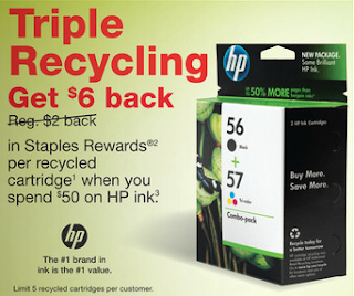 Getting coupons from recycling centers