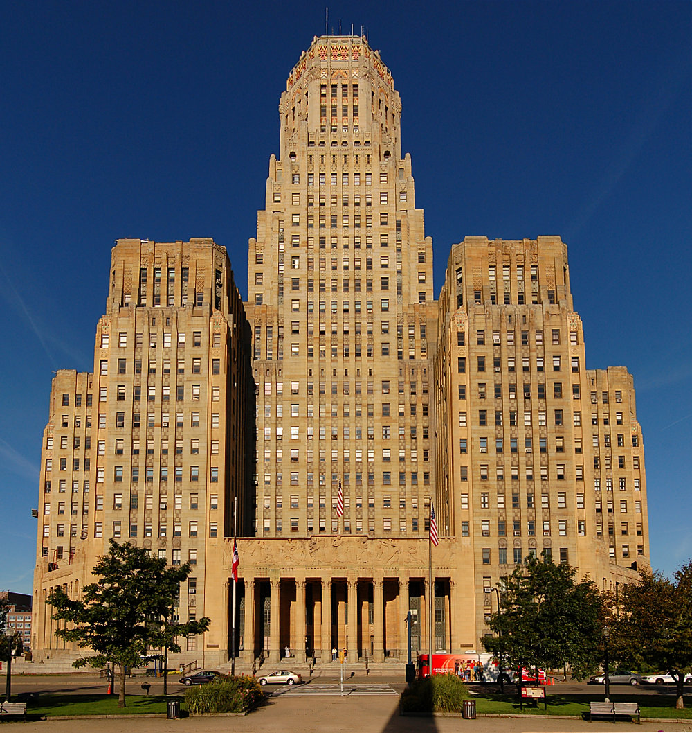 City Hall Of Buffalo New York An Art Deco Building