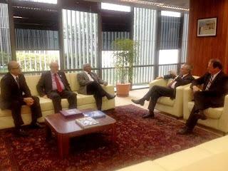 Ministro Carlos Alberto Reis de Paula, Michel Temer e Eliseu Padilha