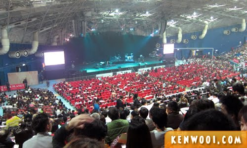 genting arena of stars hall