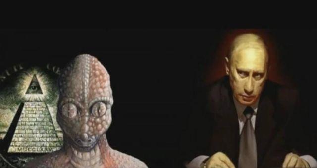 O Βλαντιμίρ Πούτιν είπε ότι «το 95% της παγκόσμιας άρχουσας τάξης δεν είναι καν ανθρώπινη»!!! αλλά είναι «ψυχρά υβρίδια «που είναι» μέλη μιας αρχαίας λατρείας».