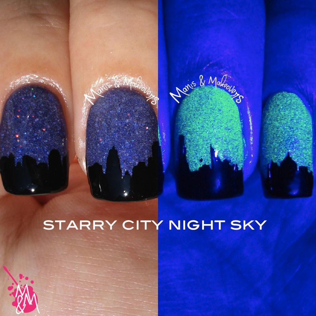 Manis & Makeovers: HPB Presents: City Night Sky