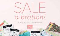 January 2021 Sale-a-Bration!