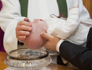 Image of infant baptism