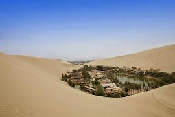 Menakjubkan, Kota Indah Ini Berada di Tengah Gurun Pasir