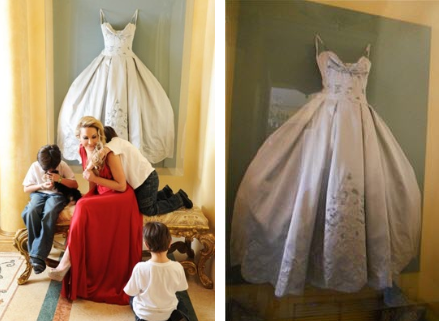 April 2012 through the front door for How do you preserve a wedding dress