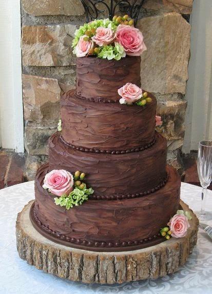 Chocolate Wedding Cake | Yummy Mummys Cakes - Cakes for