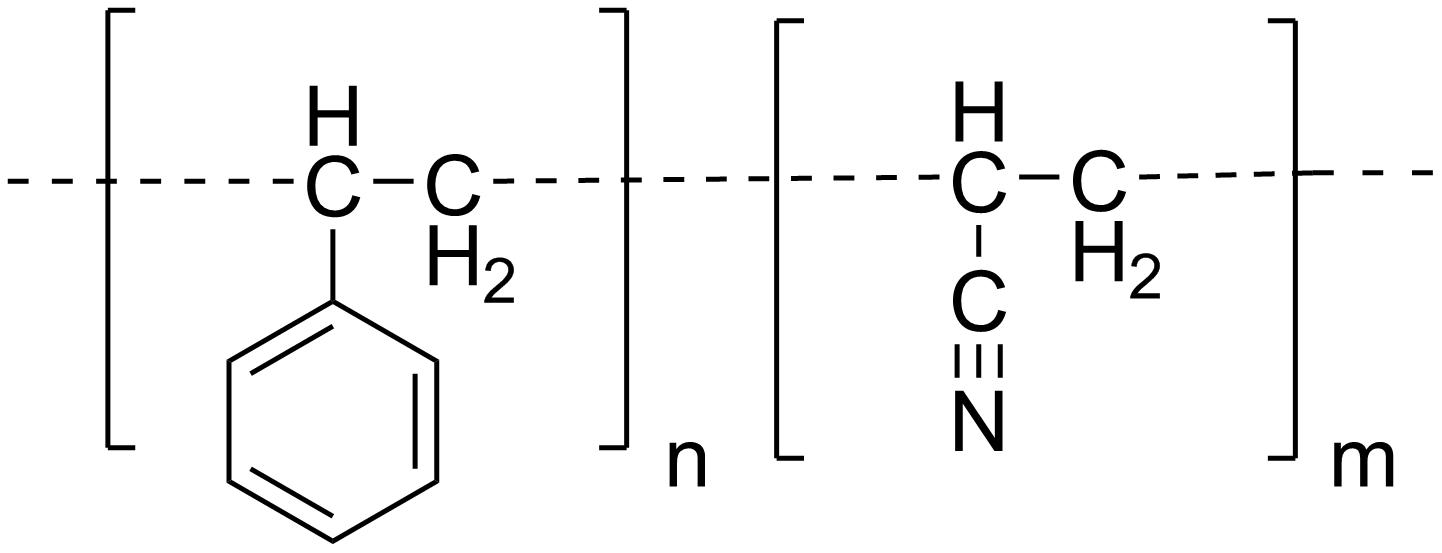 production of ethylene butadiene coploymer Acrylonitrile-butadiene-styrene copolymer (abs), a hard, tough, heat-resistant engineering plastic that is widely used in appliance housings, luggage, pipe fittings, and automotive interior parts essentially a styrene-acrylonitrile copolymer modified by butadiene rubber, abs combines the resilience of polybutadiene with the hardness and rigidity of polyacrylonitrile and polystyrene.