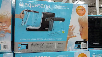 Aquasana Powered Water Filtration System for drinking fresh, filtered water