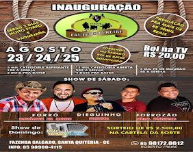 INAUGURAÇÃO PARQUE DE VAQUEADA - MALHADA GRANDE /SQ
