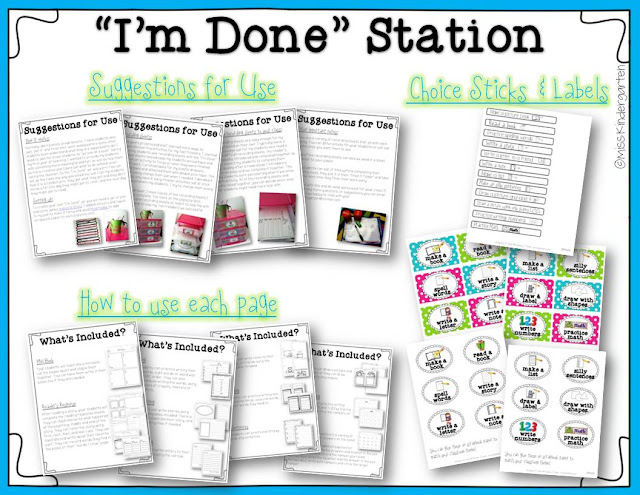 https://www.teacherspayteachers.com/Product/All-Done-Now-What-activities-for-fast-finishers-Part-One-858156