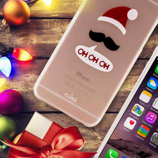 cover puro winter collection natale regalo iphone 5 5s 6 6s samsung galaxy s4 s5