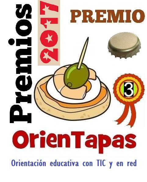 Tercer premio en V Premios OrienTapas 2017