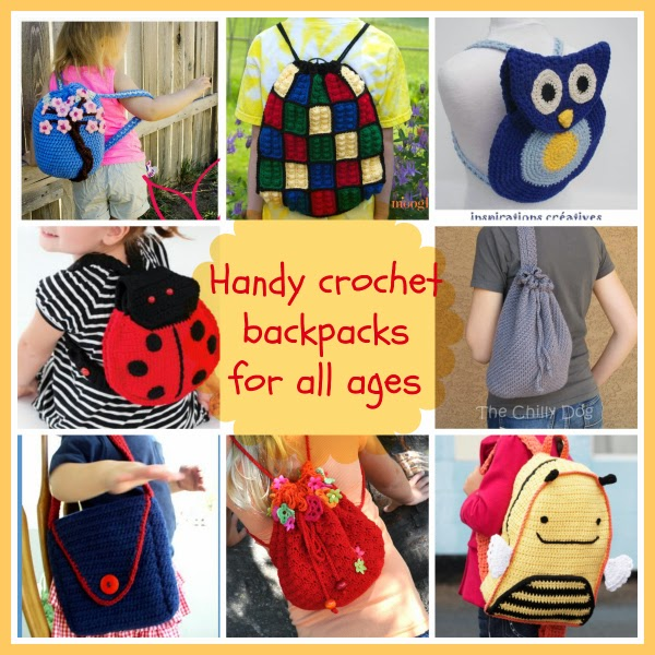 crochet backpack free patterns