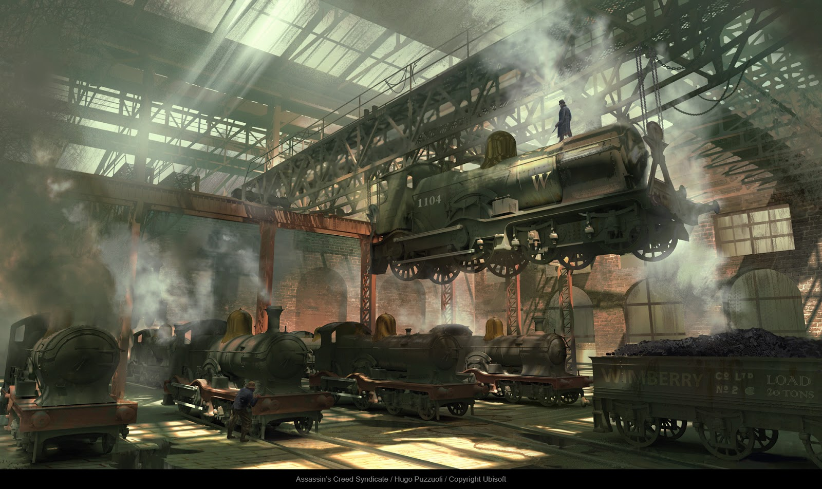 Hugo Puzzuoli Assassin s Creed syndicate Concept art