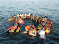 bersnorkeling Asik 2-3spot