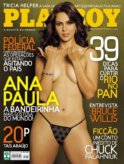 Fotos Da Bandeirinha Mais Gostosa Do Mundo Ana Paula Oliveira Capa