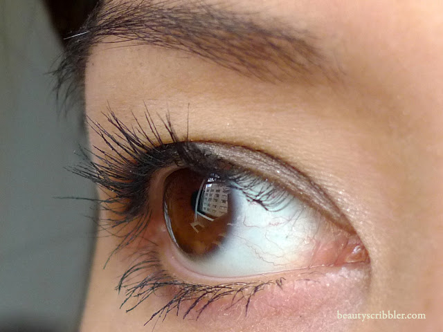 Natural Angel Lash Extender before
