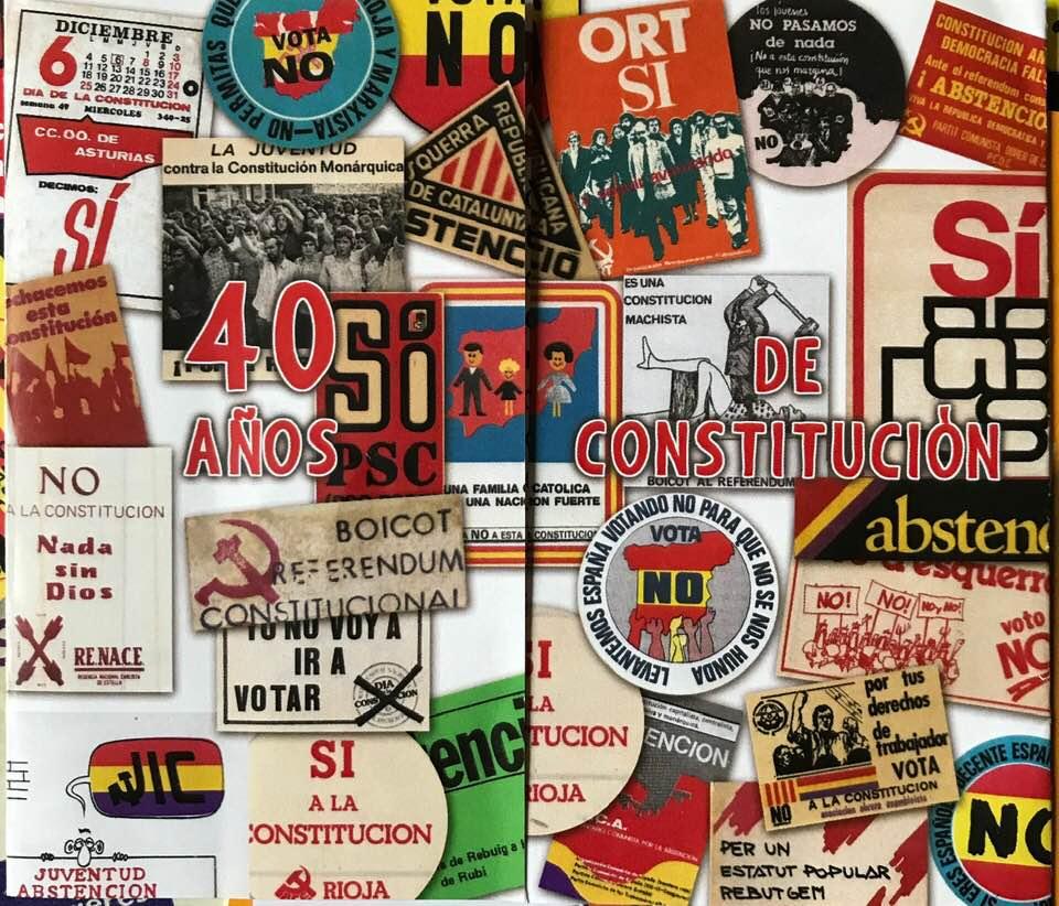 EXPOSICION 40 AÑOS DE CONSTITUCION
