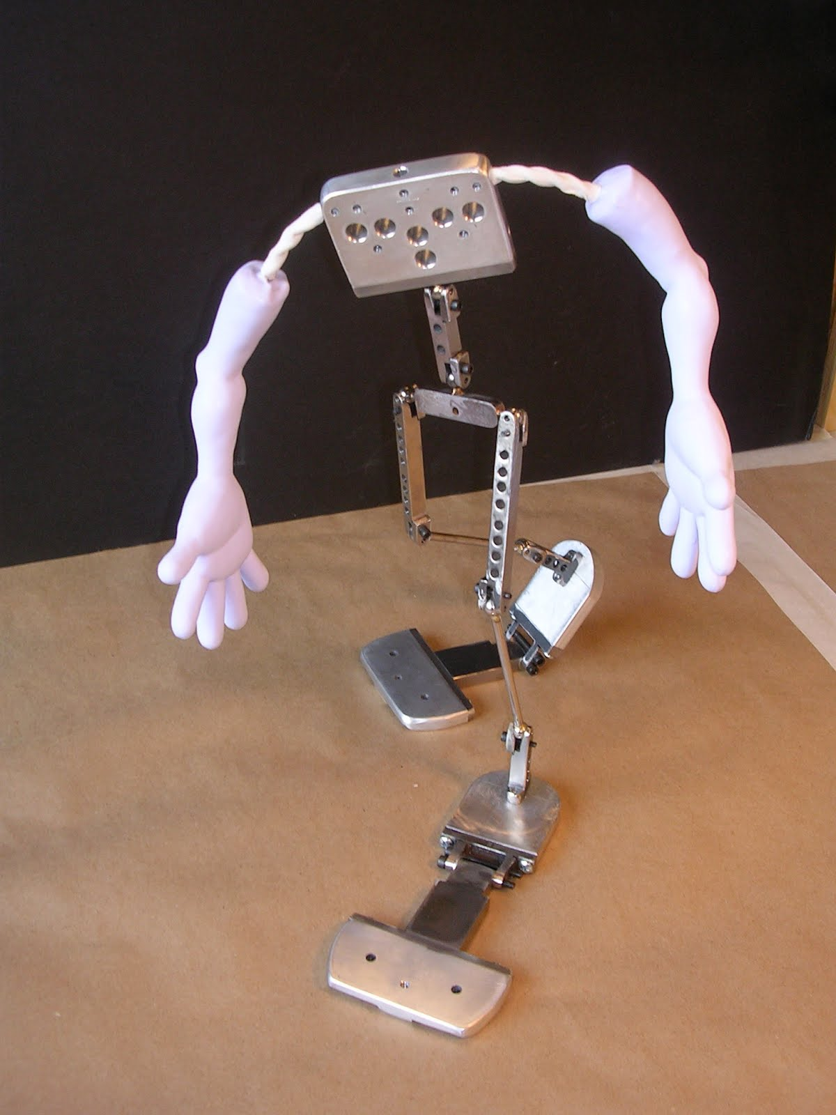 Ball & Socket Armature For A Giant Stop-Motion Clown Puppet! ~ Skin ...