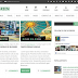 GoGreen Blogger Template Free Download