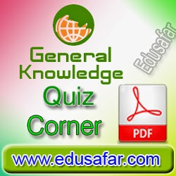 General Knowledge Quiz Corner 2014