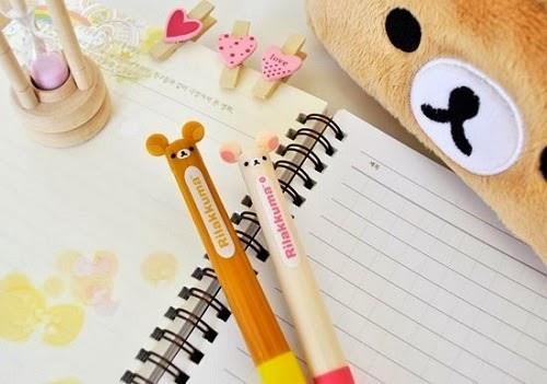caneta ursinho