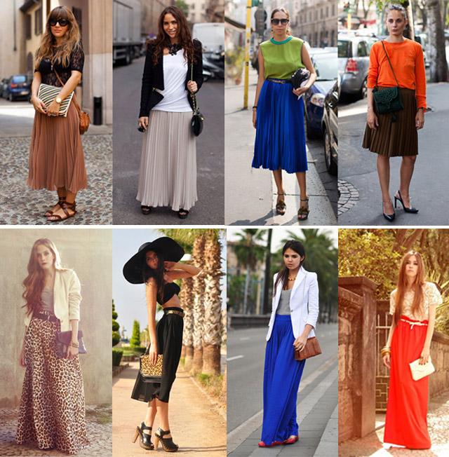 Женский Стиль Одежды Длинные Юбки И Аксессуары