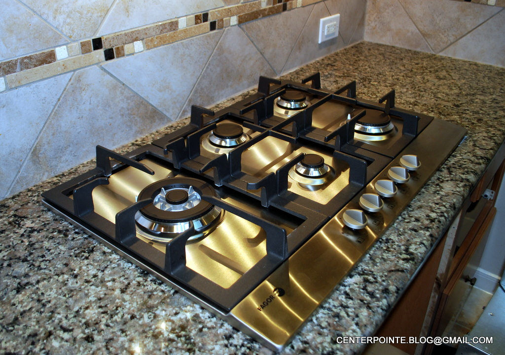 Centerpointe Communicator: Best 30-inch gas cooktop