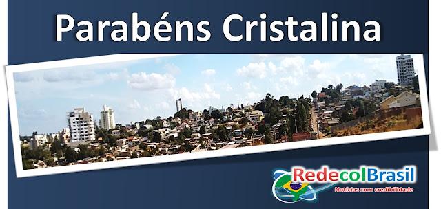 Cristalina Goiás 99 anos