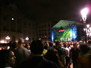 Concert in Plaça Sant Jaume