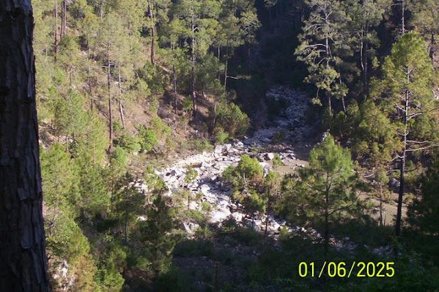 Gompti river in kausani