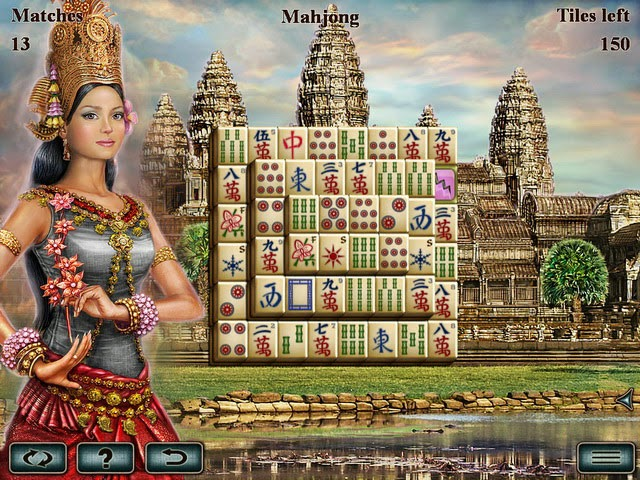 Download Greatest Temples Mahjong