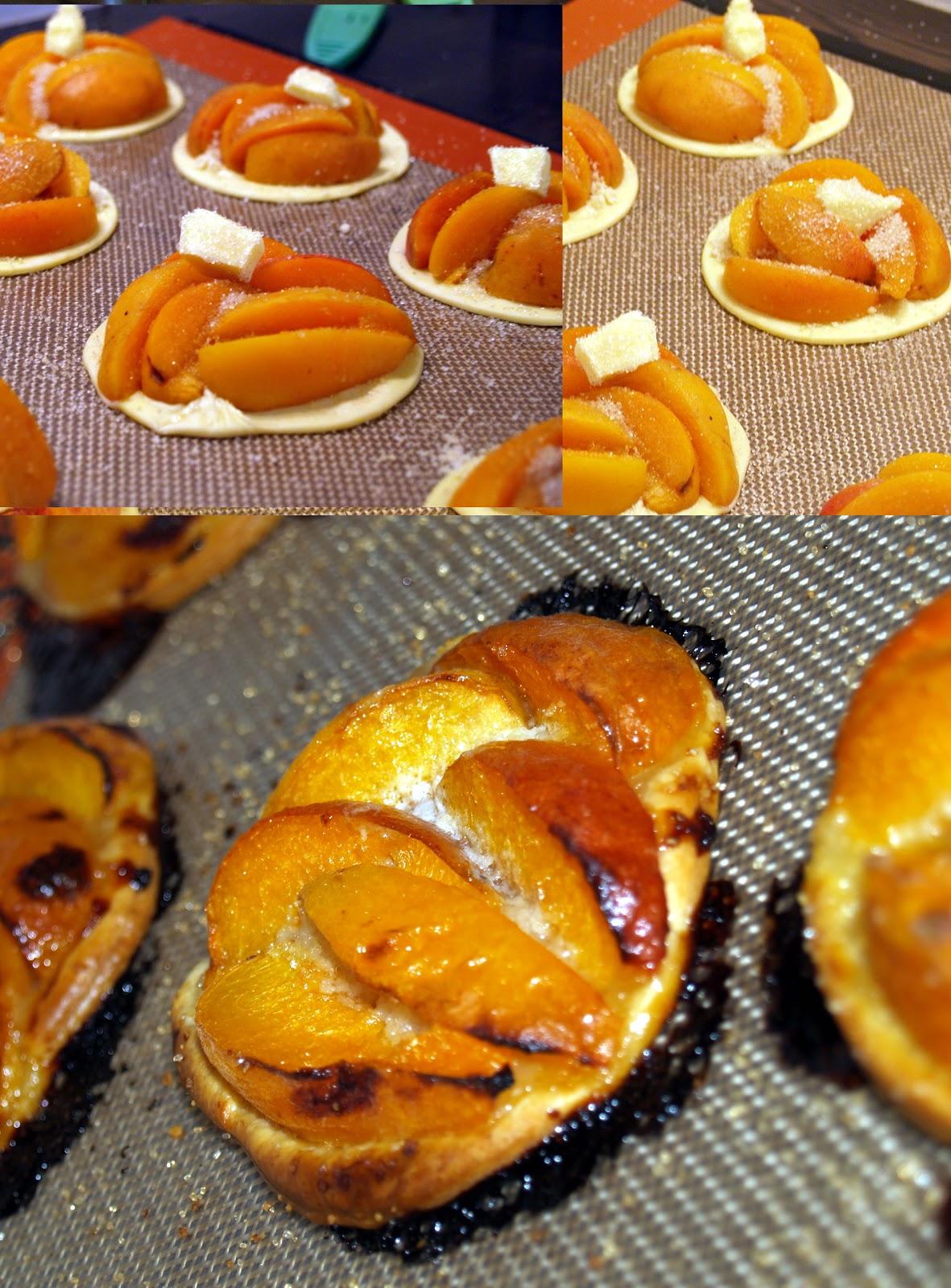 bamby cuisine tarte fine aux abricots. Black Bedroom Furniture Sets. Home Design Ideas