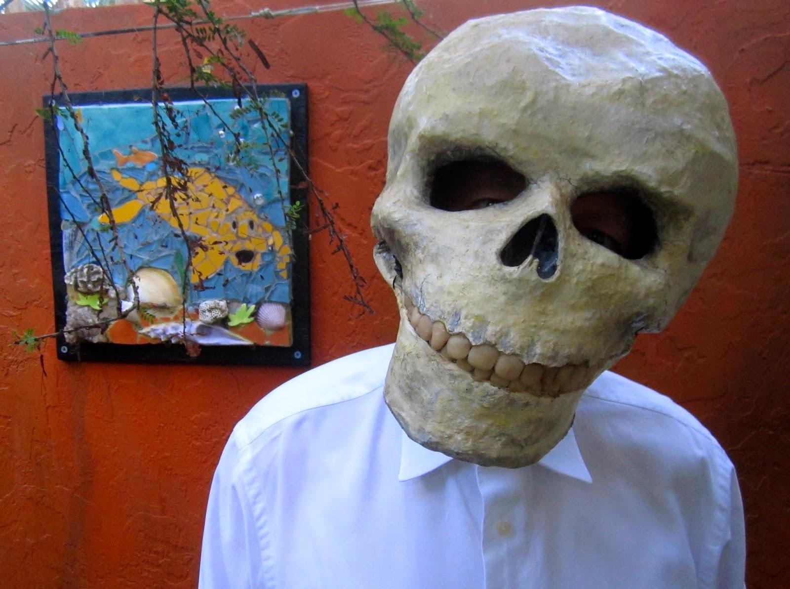 The grove guy june 2014 for Paper mache mash