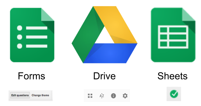 how to add google form to google drive