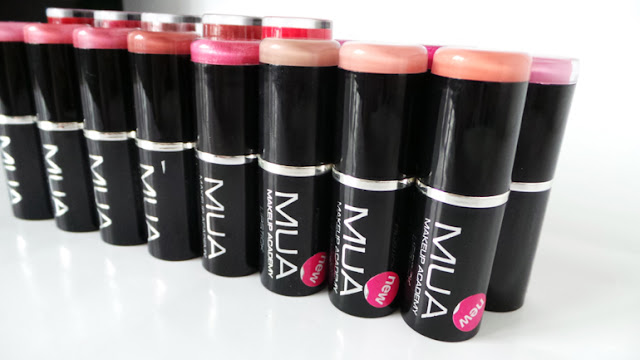 MUA £1 Lipstick Collection Review & Swatches
