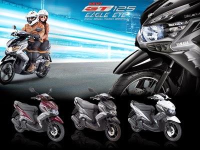 Harga Kredit Motor Yamaha New GT 125 Eagle Eye Terbaru 2014 Brosur