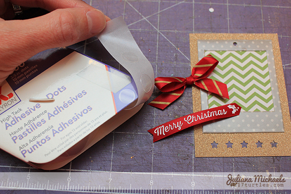 Star Christmas Gift Tags Tutorial 14 by Juliana Michaels