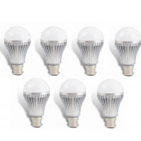 Buy Led Bulb Combo (Set Of 7, 5W) from Rs.263 : Buy To Earn